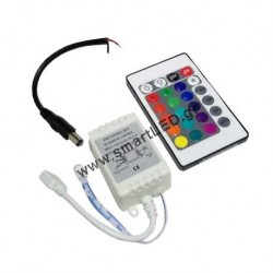 LED Strip Controller & Receiver 72w