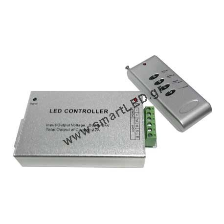 LED Strip Controller & Receiver 144w