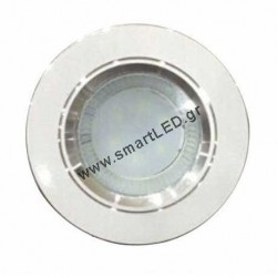 Panel Light 2,5inches silver 3w